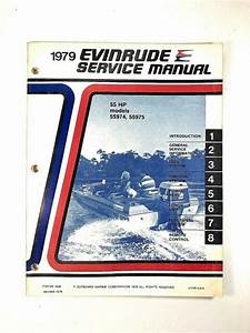 5428 Evinrude 1979 Outboard Service Manual 55 Hp For Sale