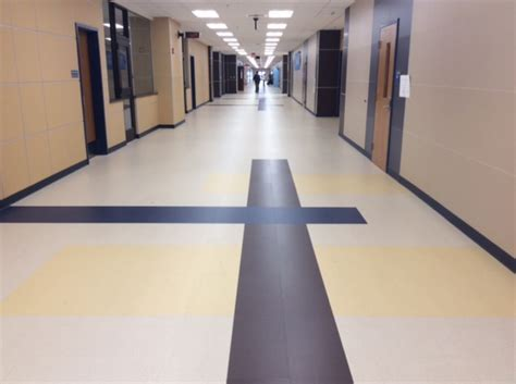 health and learning vinyl tile ? Roppe