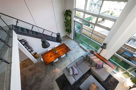 living room and kitchen color ideas vintage modern loft design in vancouver by the macnabs