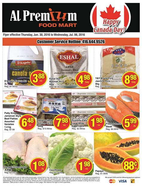 premium cuisines al premium food mart flyer june 30 to july 6