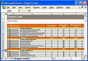 test plan template project costs excel spreadsheet With software testing schedule template