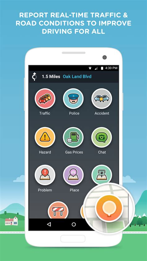 waze app android waze social gps maps traffic android central