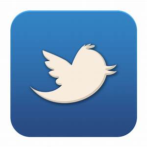 Twitter Old Icon - Flat Social Media Icons - SoftIcons.com