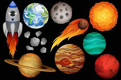 Space Clipart Vector Clip Related Astronomy Illustrations