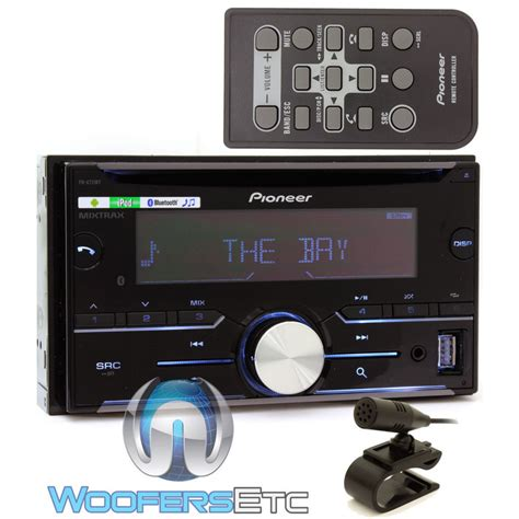 pioneer fh x731bt in dash 2 din cd stereo receiver with bluetooth