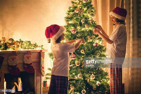 christmas tree decorations stock photos and pictures