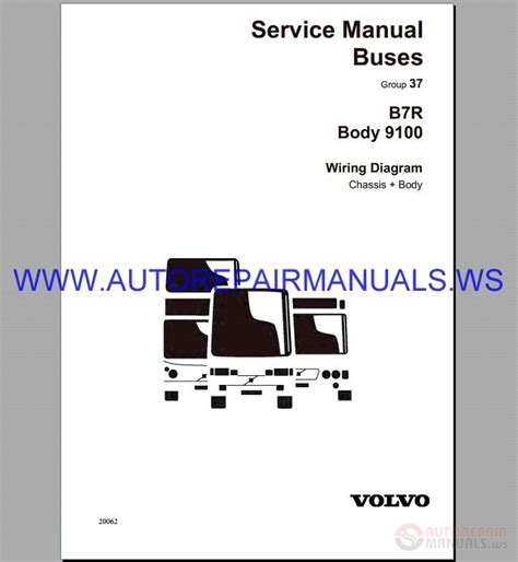 Volvo Wiring Diagram Service Manual Buses Auto