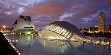 city  arts  sciences santiago calatrava archocom