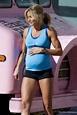 Wallpaper World: Pregnant Cameron Diaz Natural Look Photos