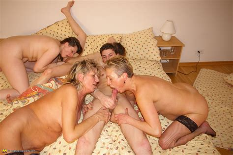 Mature Nude Group Party