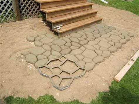 outdoor great diy concrete pavers how to build diy
