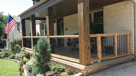 porch column wraps cedar porch columns rails furniture