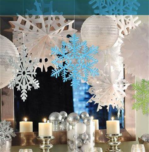 winter hanging decorations   winter wonderland