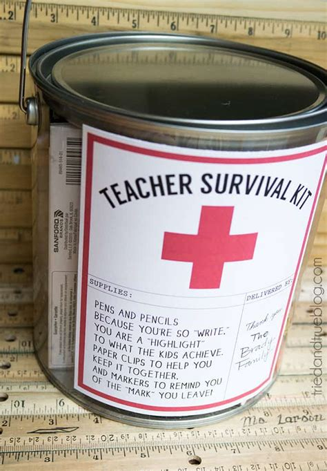 teacher survival kit  true