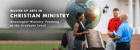 christian ministry degree program graduate school