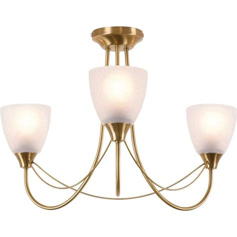 symphony antique brass wall lights buy home symphony 3 light ceiling fitting antique brass
