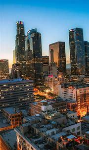 Los Angeles iPhone Wallpaper - Supportive Guru