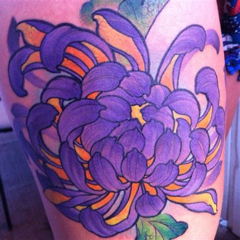 james tex deadly tattoos  calgary canada thigh