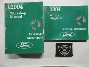 2004 Ford Freestar Mercury Monterey Service Shop Repair