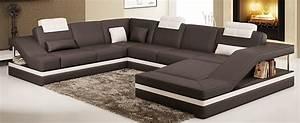 Lounge Sofa Leder : designer leder lounge leder sofa couch ecksoa nashville von jet line ebay ~ Watch28wear.com Haus und Dekorationen