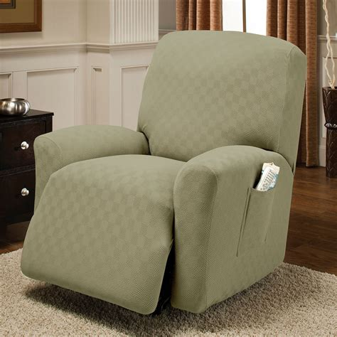 Recliner Slip Cover by Newport Stretch Jumbo Recliner Slipcovers