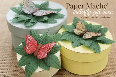 paper mache gift boxes