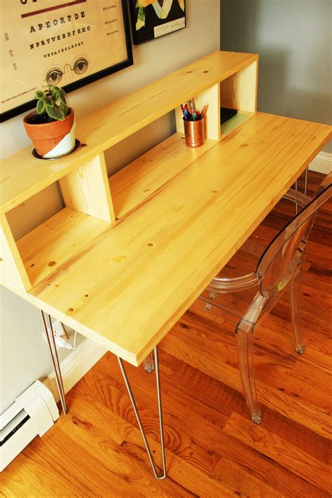simple desk plans  home offices built  love