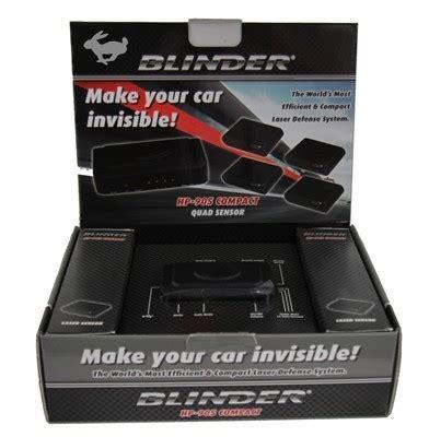 blinder hp  laser jammer radarbusterscom
