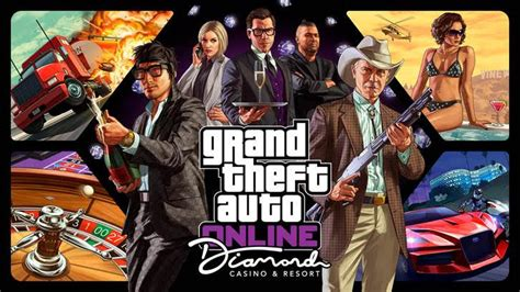 Gta Online's Diamond Casino Dlc Update Available Now