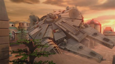 Lego Star Wars The Empire Strikes Out Exclusive Clip