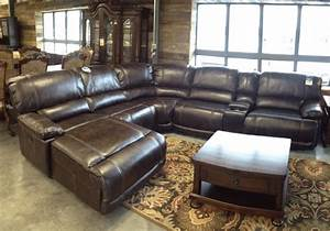 Archdale LeathAire 6Pc Power Reclining Sectional