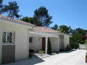 Maison Plain Pied En L : la maison contemporaine plain pied igc construction ~ Melissatoandfro.com Idées de Décoration