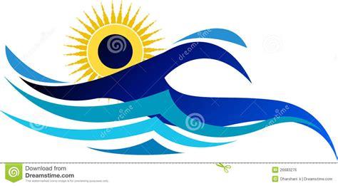 foto de Logo De Natation Image libre de droits Image: 26683276