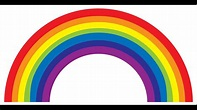 Colours of the Rainbow tag - YouTube