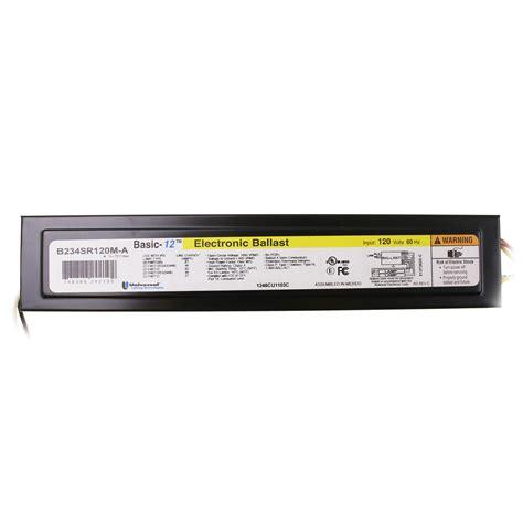 universal 4 l t12 ballast universal b234sr120m a electronic fluorescent ballast 2