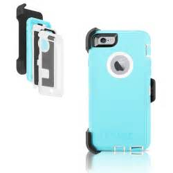 Blue OtterBox Defender Case for iPhone 7