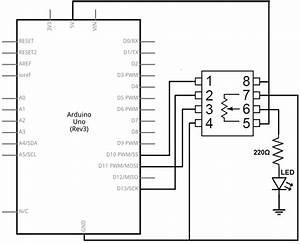 Mcp4131 Digital Potentiometer Circuit