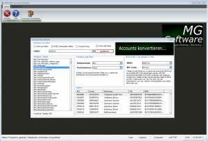 Iban Prüfziffer Berechnen Excel : mgs sepa account converter mg software entwicklung ~ Themetempest.com Abrechnung