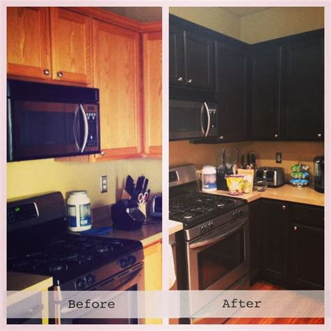 new kitchen cabinets using gel stain stained cabinets