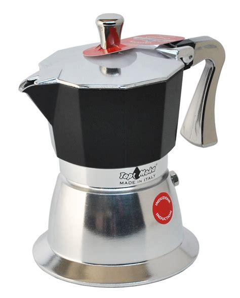 italian coffee maker for induction hob 3 cup italian