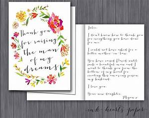 Letter gift from bride to mother of the groom mother in for Letter to mother of the bride