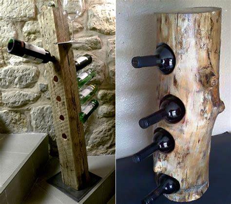 was kann aus einem baumstamm machen so einfach kann ein eigenes weinregal selber bauen freshouse