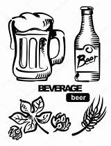 Beer Illustration Keg Icon Pages Coloring Template Depositphotos sketch template