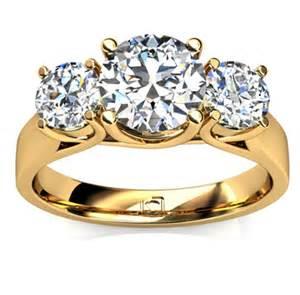 14k yellow gold engagement rings three engagement ring in 14k yellow gold engagement ring wall