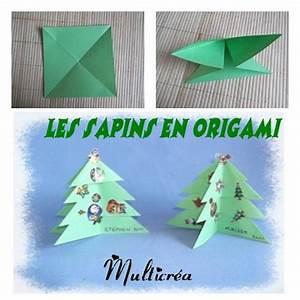 Origami Facile Noel : origami facile noel sapin ~ Melissatoandfro.com Idées de Décoration
