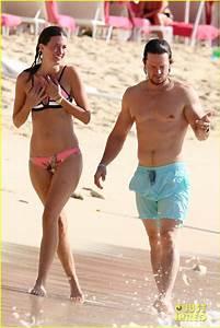 Full Sized Photo of mark wahlberg and wife rhea durham ...