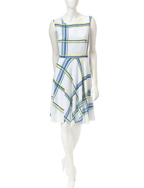Shop today for ABS by Allen Schwartz Plaid Print Dress