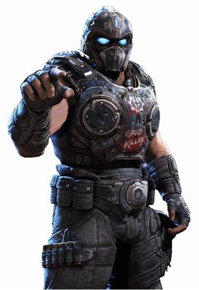 Gears Carmine War Clayton Personajes Cog Gear