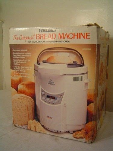 Welbilt bread machine 1pound recipes. Welbilt The Original Bread Machine AMB100 2 lb Loaf w Manual | eBay | Bread machine recipes ...