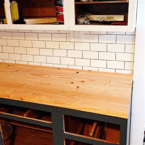 diy wood countertops diy wood plank countertops manhattan nest